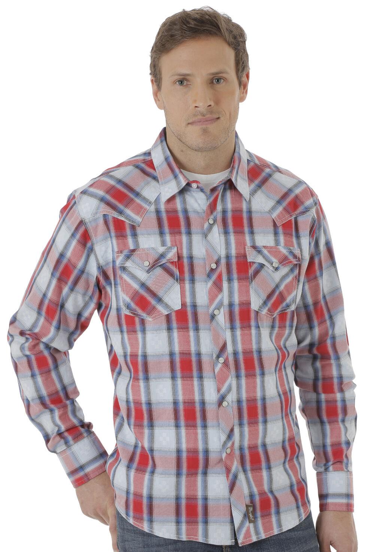 Wrangler Men's Multi Retro® Long Sleeve Shirt, , hi-res