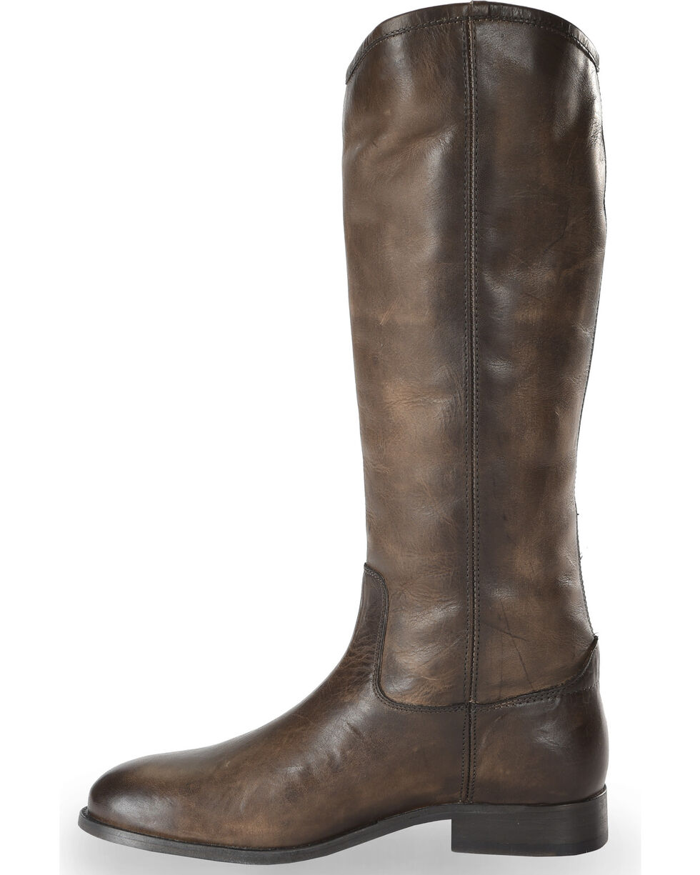 Frye Women's Slate Melissa Button 2 Tall Boots - Round Toe, Slate, hi-res