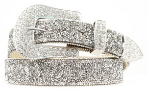 Ariat Crystal Chip Belt, Crystal, hi-res