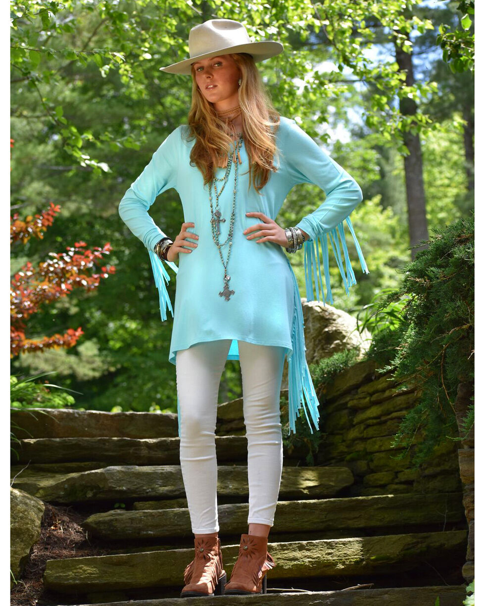 Tasha Polizzi Women's Teton Tunic, Light Blue, hi-res