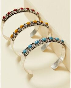 Shyanne Women's Summer Nights Multi Cuff Bracelet, Silver, hi-res