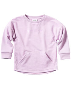 Carhartt Toddler Girls' Pink French Terry Pullover Sweatshirt , Pink, hi-res