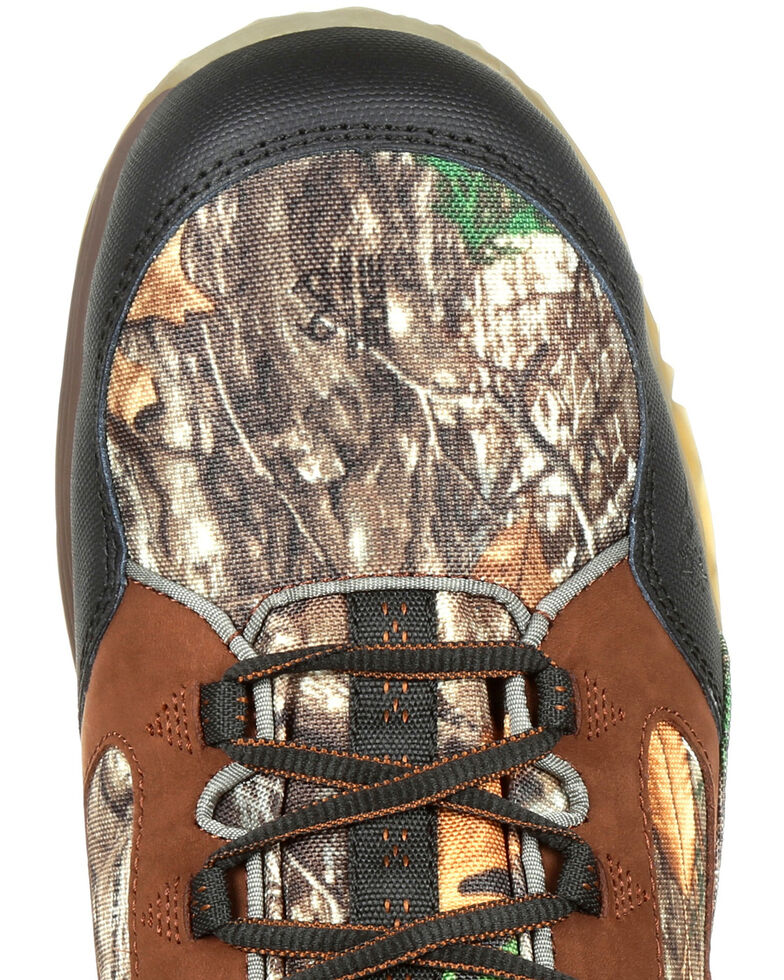 Rocky Men's Broadhead EX Insulated Waterproof Outdoor Boots - Round Toe, Camouflage, hi-res