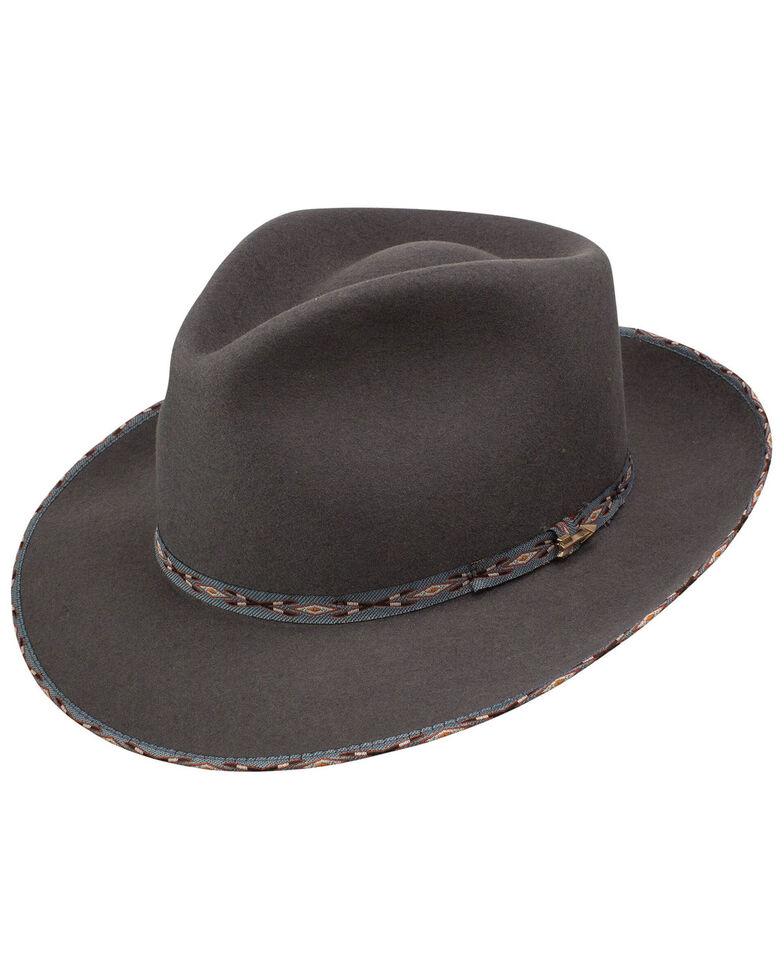 Stetson Men's Vangard Caribou Wool Felt Hat , Tan, hi-res