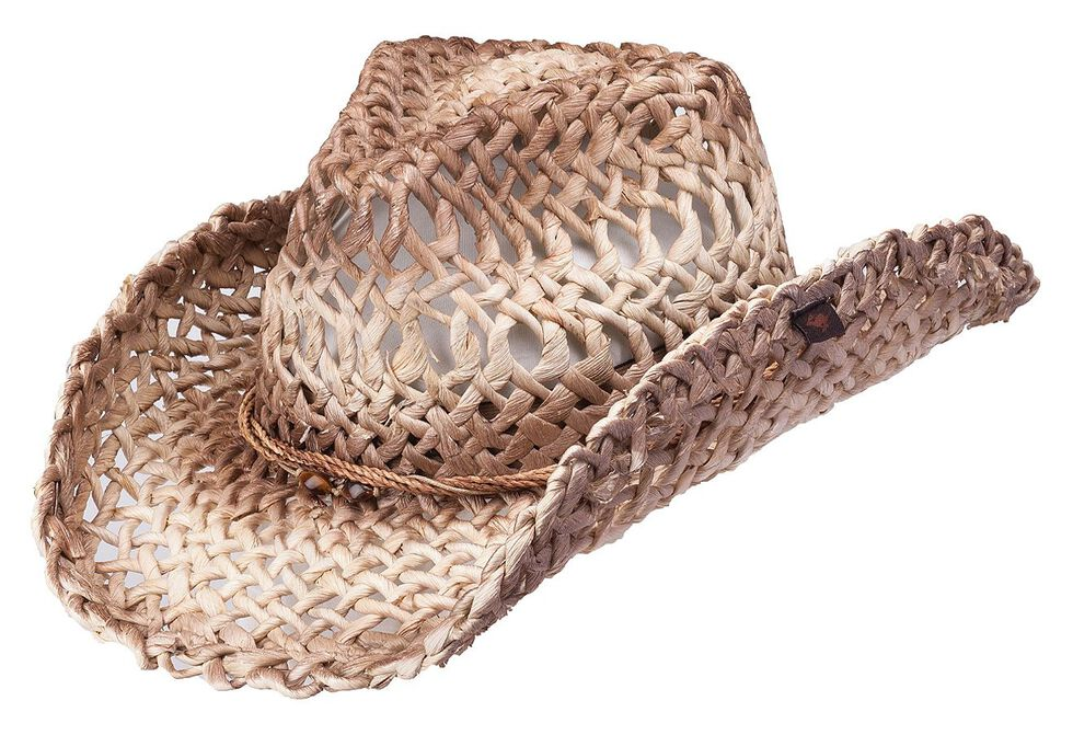 fcd5a59f2e475 Peter Grimm Ford Natural Straw Cowgirl Hat - Country Outfitter