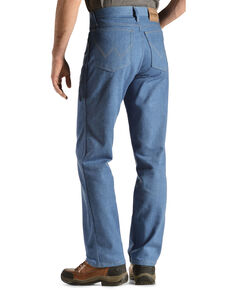 Wrangler Rugged Wear Stretch Regular Fit Jeans - Big , Light Blue, hi-res