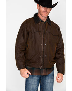 Outback Trading Co. Oilskin Jacket, Bronze, hi-res