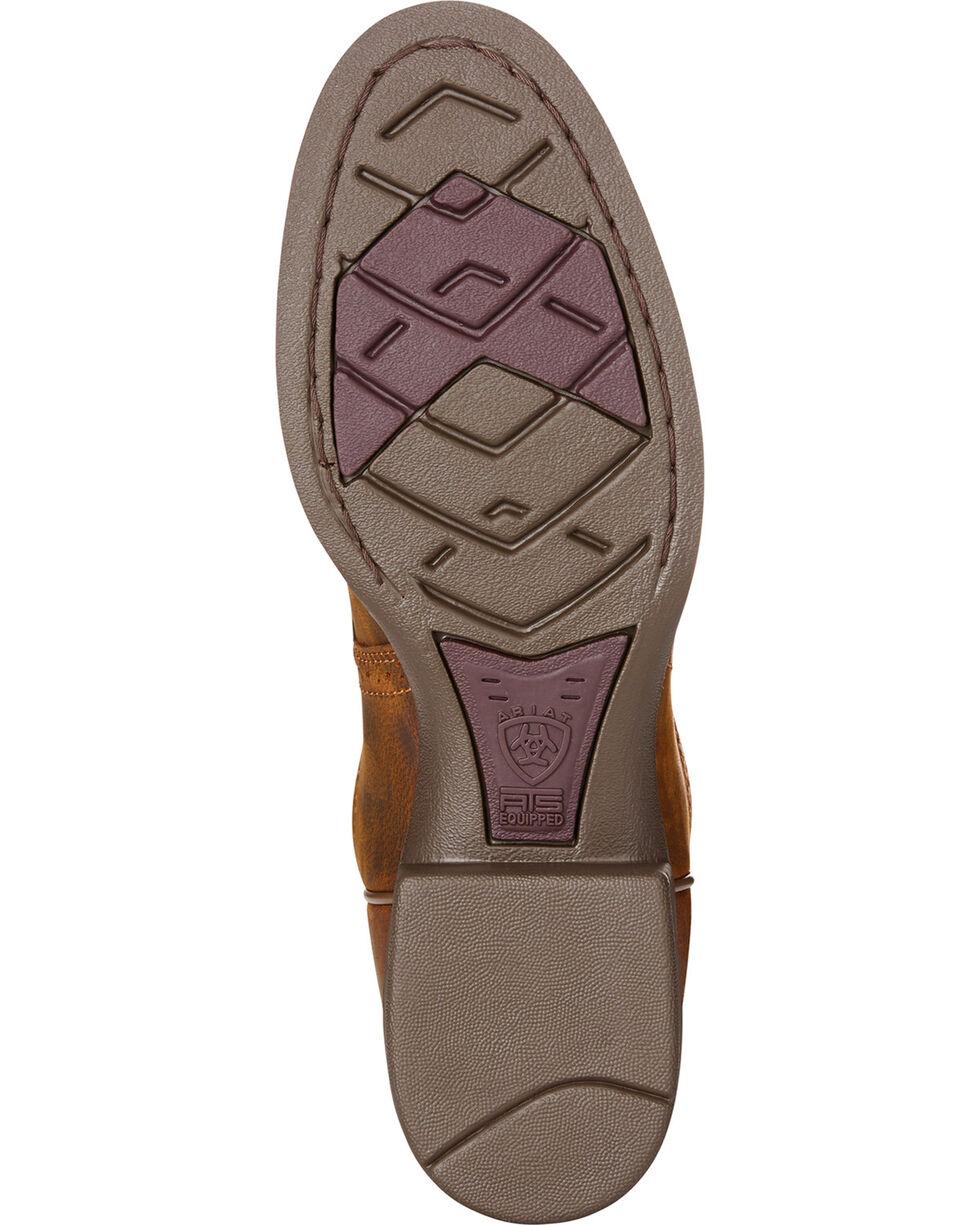 Ariat Women's Heritage Stockman Sassy Brown Boots - Round Toe, Brown, hi-res