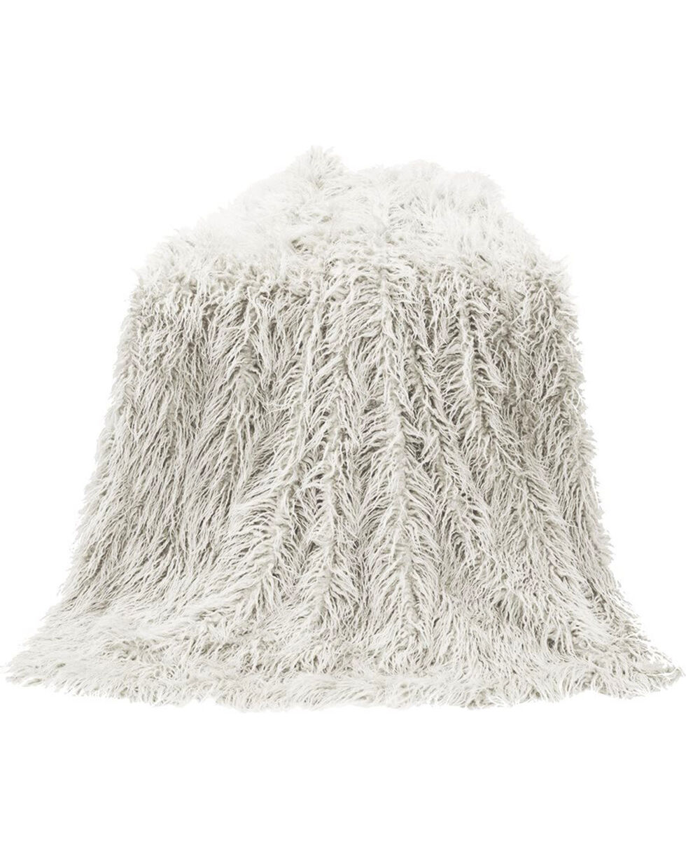 HiEnd Accents Mongolian Faux Fur Throw Blanket, , hi-res