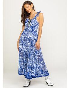 Free People Women's Kikas Midi Dress, Ivory, hi-res