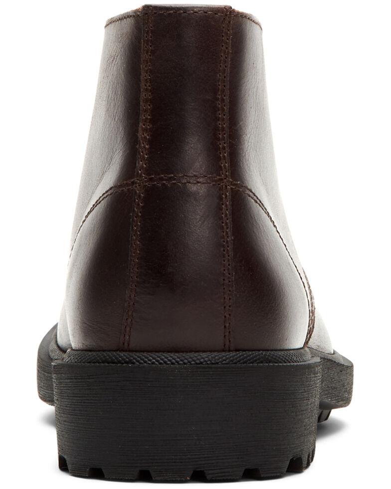 Frye Men's Jackson Chukka Work Boots - Soft Toe, Dark Brown, hi-res