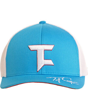 Tuf Cooper Men's Sky Blue Mesh Logo Cap , Light Blue, hi-res