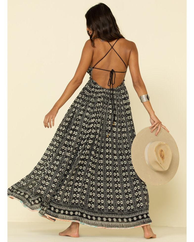 Free People Women's Good Vibes Maxi Dress, Black, hi-res