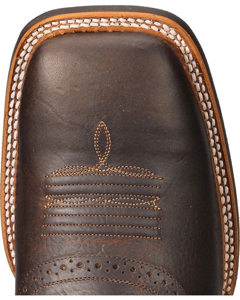 Cody James Men's Xero Gravity Gibson Saddle Vamp Western Boots - Wide Square Toe, Brown, hi-res