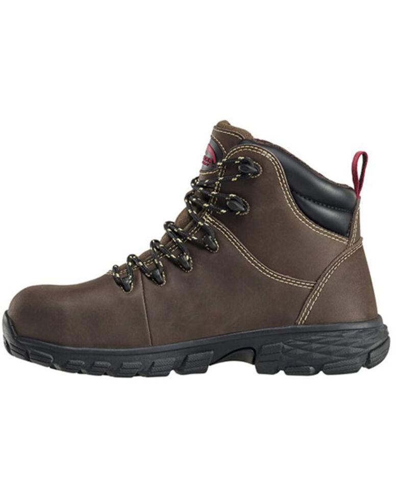 Avenger Women's Waterproof Work Boots - Alloy Toe, Brown, hi-res