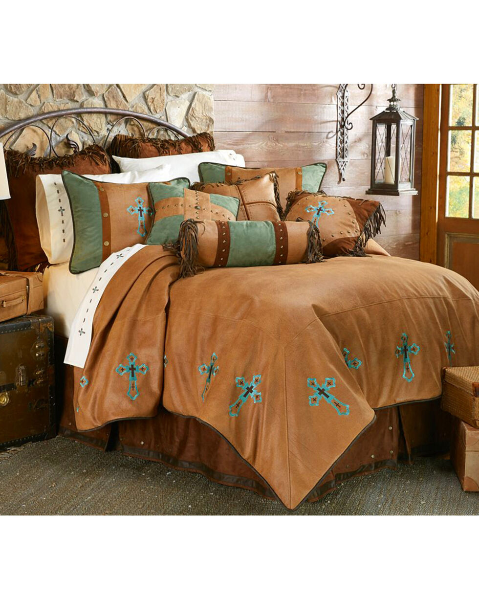 HiEnd Accents Las Cruces II Comforter Set - Queen Size, Multi, hi-res
