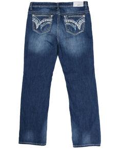 Grace in LA Women's Easy Boot Jeans - Plus, Blue, hi-res