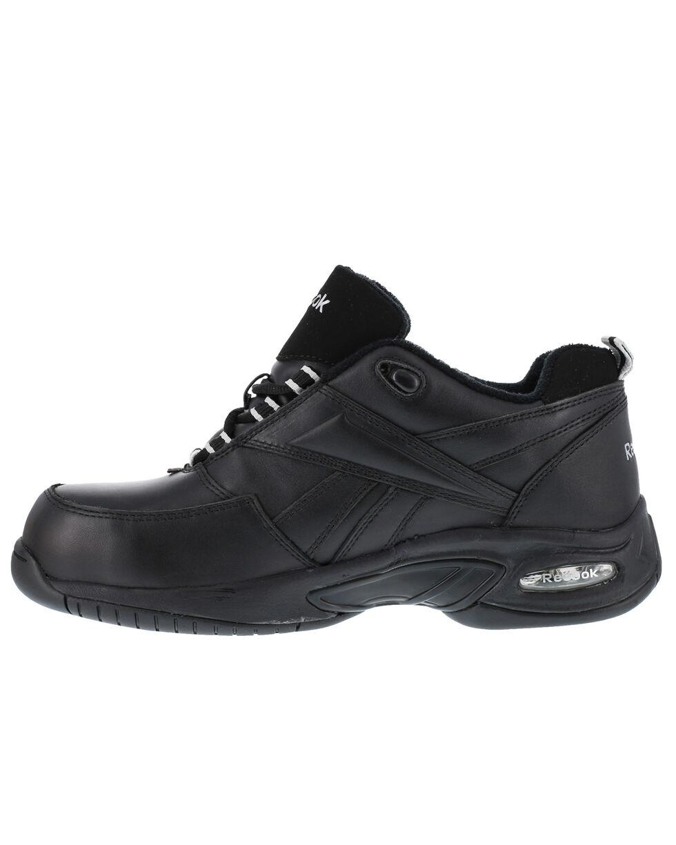 Reebok Men's Tyak High Performance Hiker Work Boots - Composite Toe, Black, hi-res