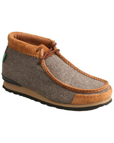 Twisted X Men's ECO-TWX Outdoor Shoes - Moc Toe, Grey, hi-res