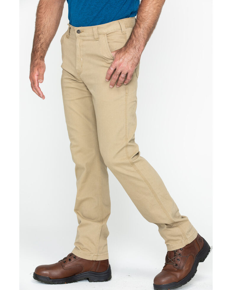 Carhartt Men's Rugged Flex Rigby Dungarees , Tan, hi-res