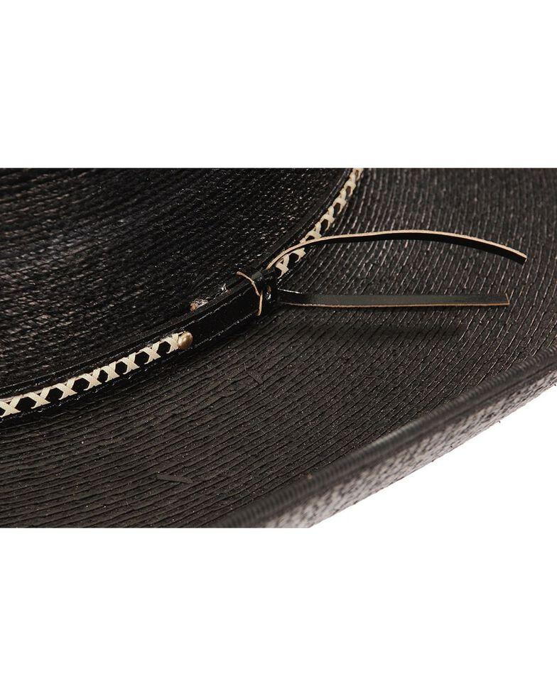 Jason Aldean Men's Asphalt Cowboy Palm Leaf Cowboy Hat, Black, hi-res
