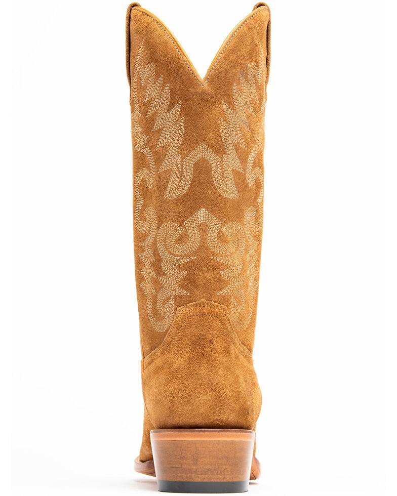 Cody James Men's Camel Suede Western Boots - Round Toe, Tan, hi-res