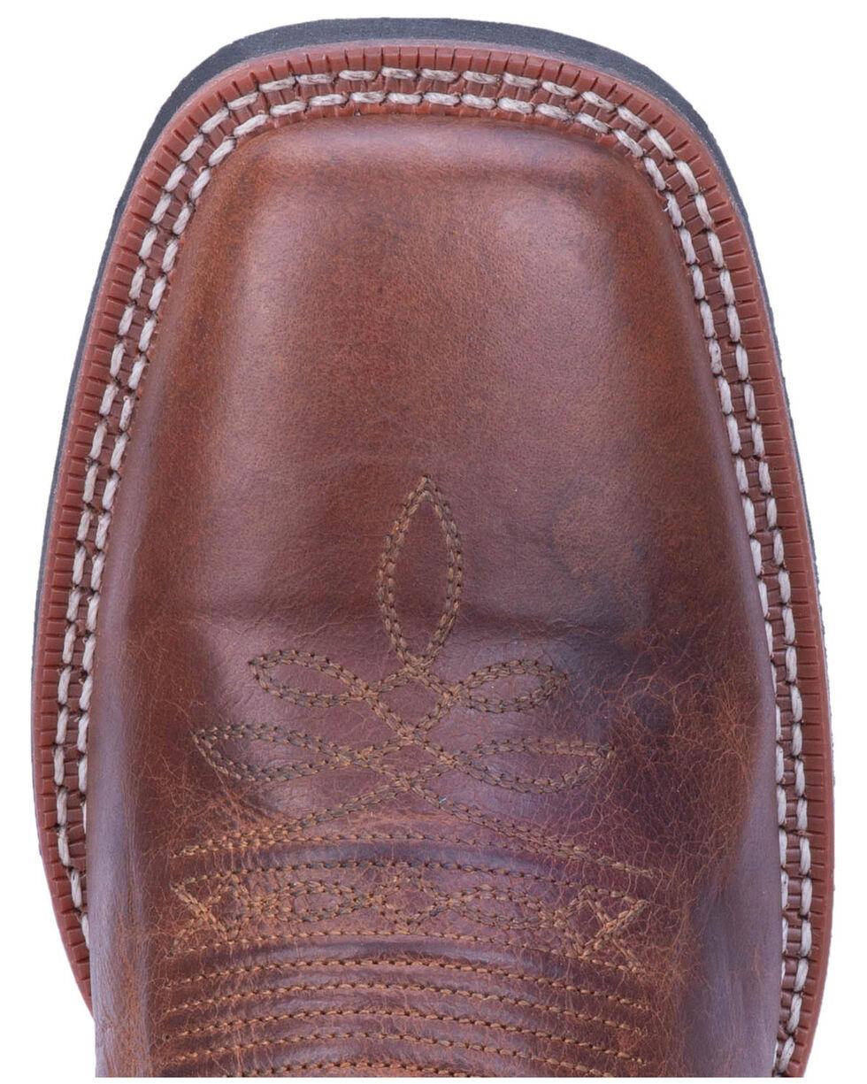 Laredo Men's Dalton Western Boots - Wide Square Toe, Brown, hi-res