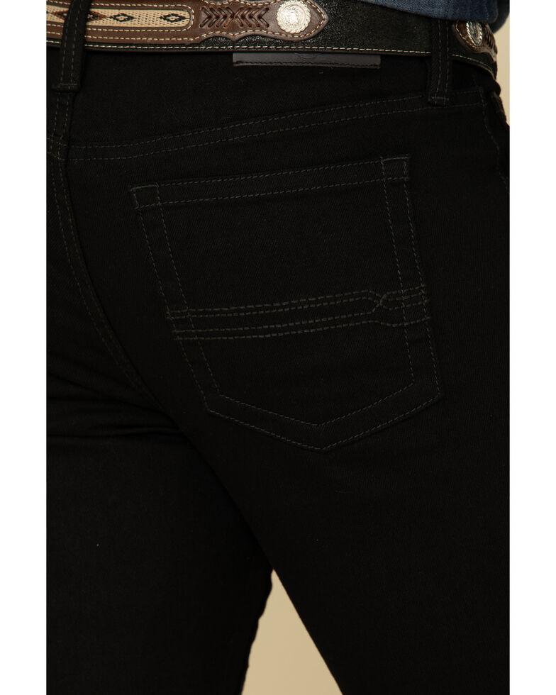Cody James Men's Black Night Rider Stretch Slim Straight Jeans  , Black, hi-res