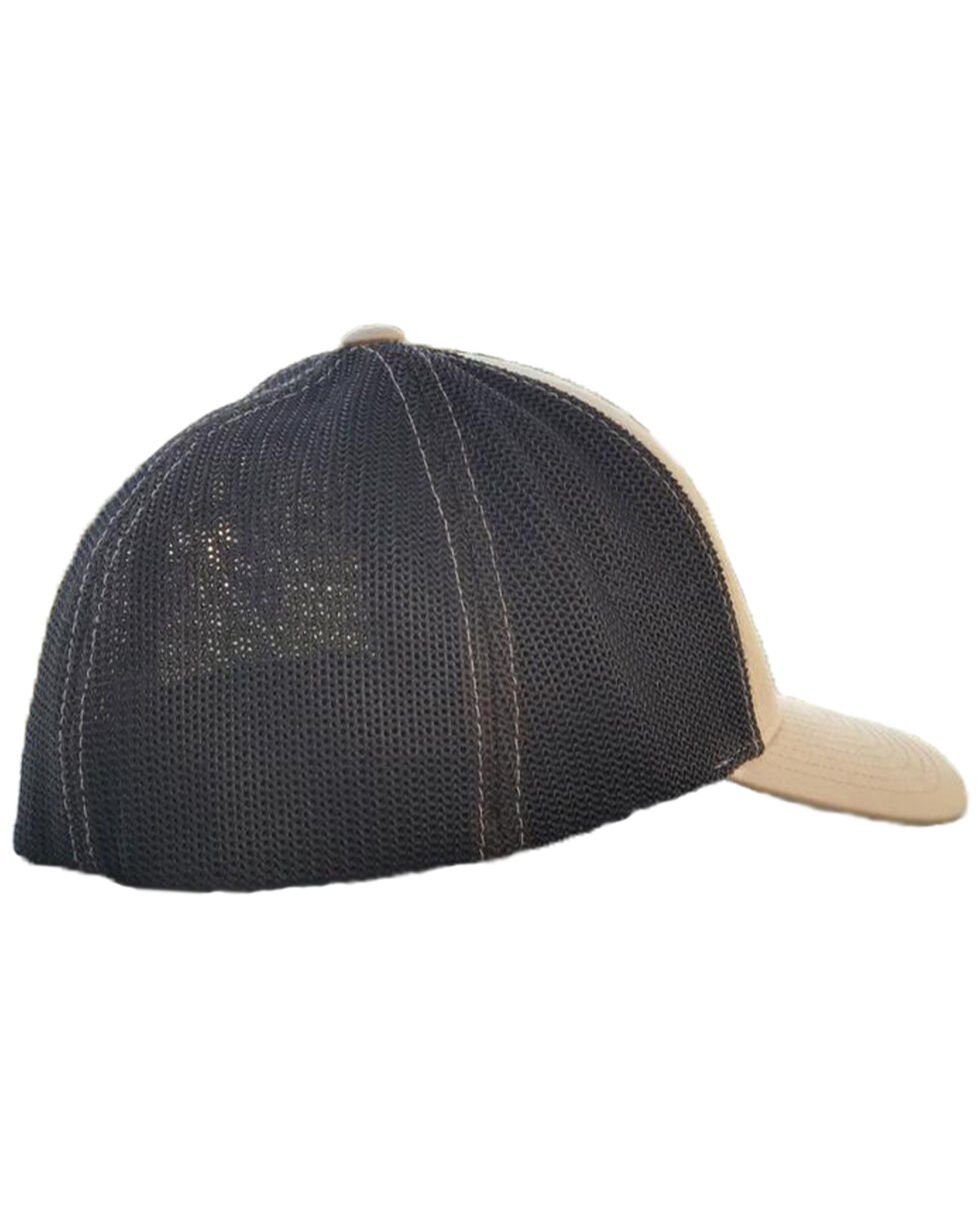 Armadillo Hat Co. Men's AHC Arrow Ball Cap, Tan, hi-res