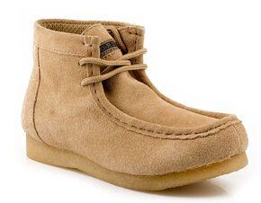Roper Kids' Casual Moc Toe Chukka Boots, Tan, hi-res