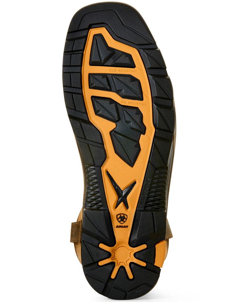 Ariat Men's Intrepid Force Waterproof Western Work Boots - Composite Toe, Brown, hi-res