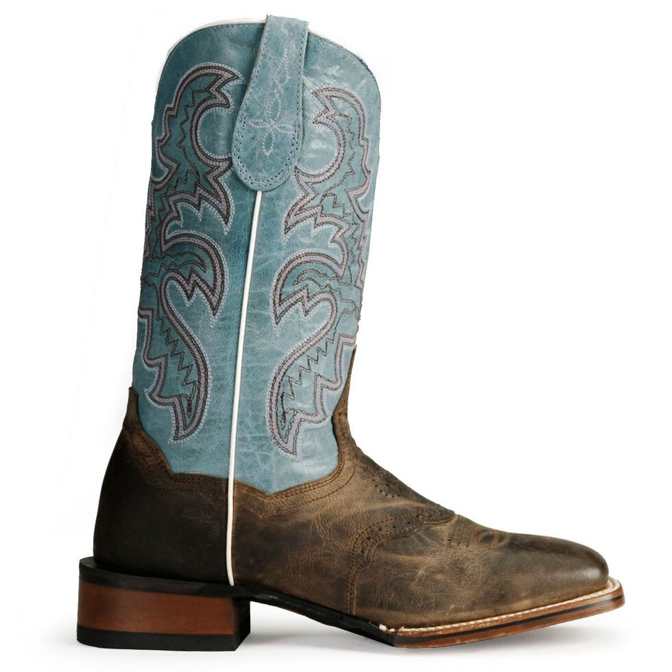 Dan Post Gel-Flex Cowgirl Certified Western Boots, Sand, hi-res