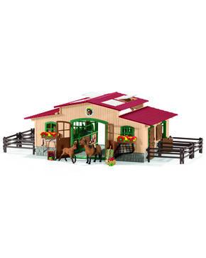 Schleich Horses & Riding Center Set, Tan, hi-res