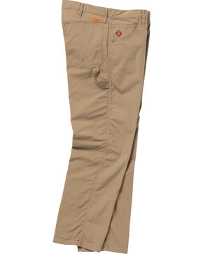 Wrangler Men's Tan FR Flame Resistant Carpenter Jeans - Straight Leg , Tan, hi-res
