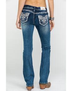fd82374ab1f Grace in LA Women s Medium Color Novelty Bling Boot Jeans