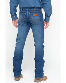 e96a5037 Wrangler Retro Men's Red River Long Slim Straight Jeans