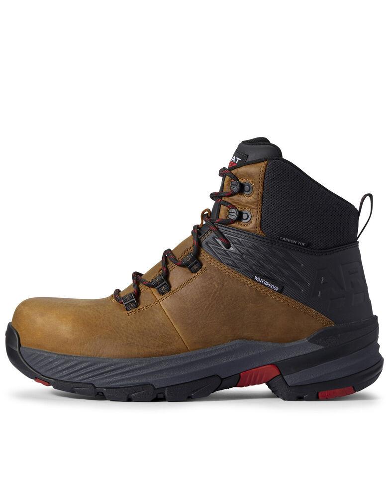 Ariat Men's 360 Stryker Work Boots - Composite Toe, Brown, hi-res