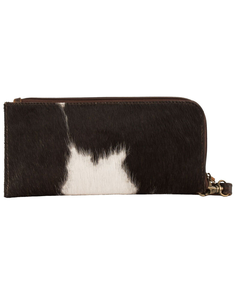 STS Ranchwear Women's Classic Cowhide Clutch, No Color, hi-res