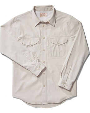 Filson Men's Twin Lakes Sport Shirt, Sand, hi-res
