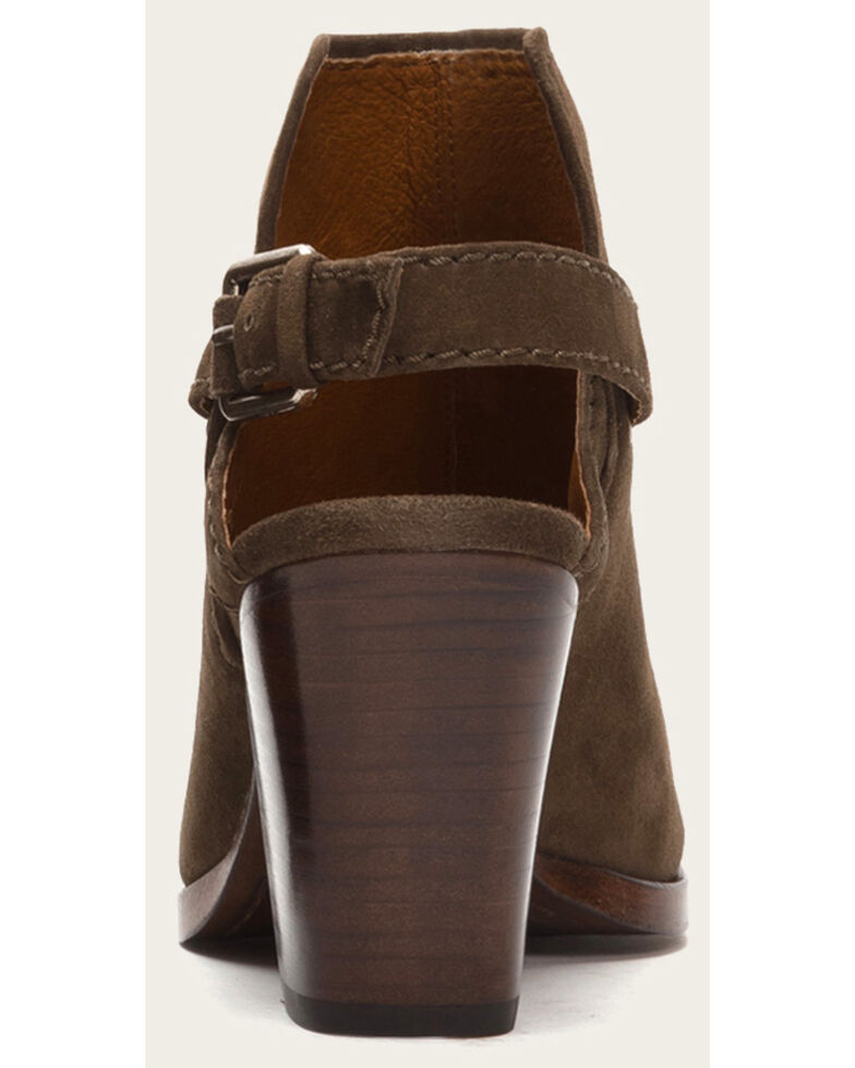 Frye Women's Dani Shield Sling Shoes - Round Toe , Taupe, hi-res