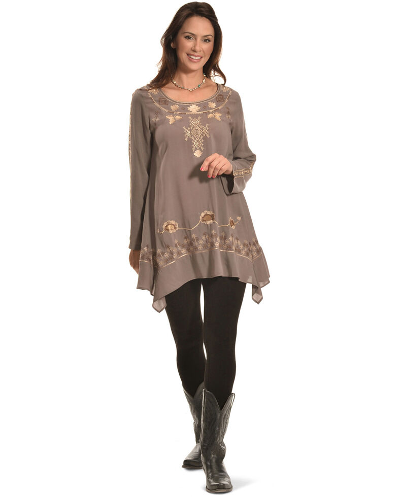Tasha Polizzi Grey Women's Ashley Tunic , Grey, hi-res