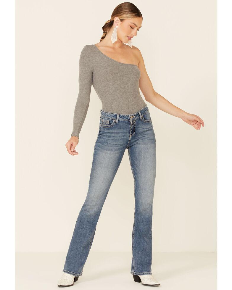 Sailey Women's Arrow Bootcut Jeans, Blue, hi-res