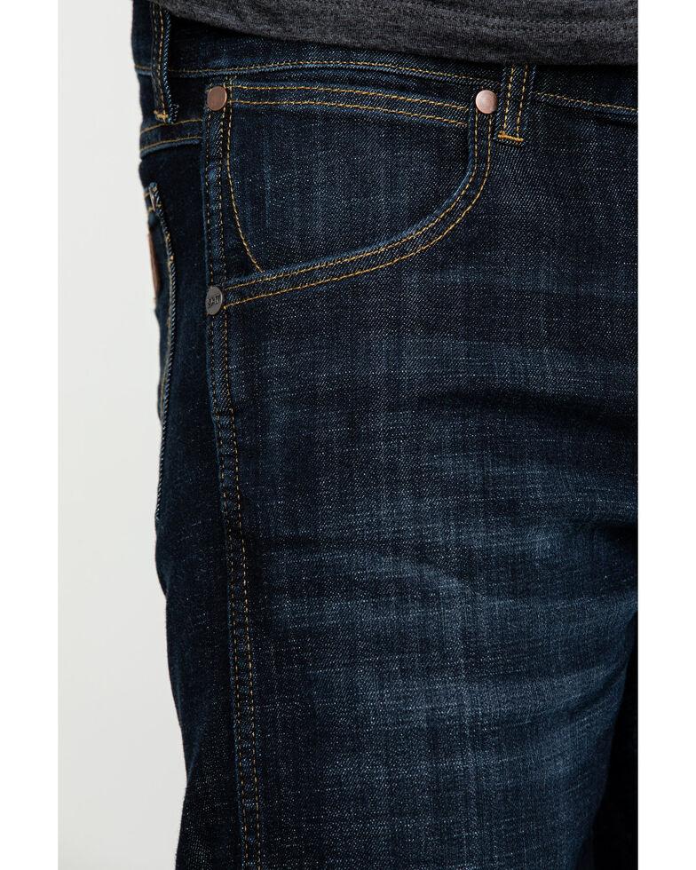 Wrangler Retro Men's Dax Dark Stretch Slim Bootcut Jeans - Long , Indigo, hi-res