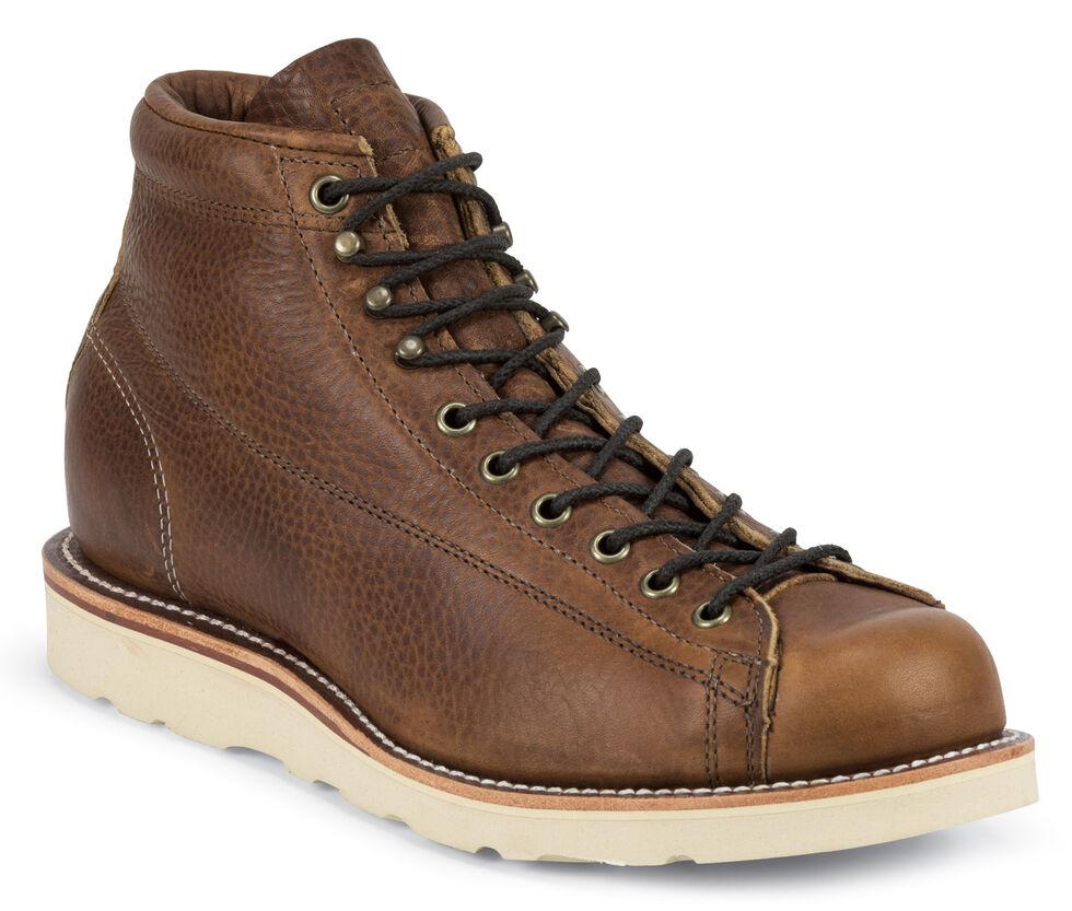 Chippewa Men's Copper Caprice Utility Bridgemen Boots - Round Toe, Copper, hi-res