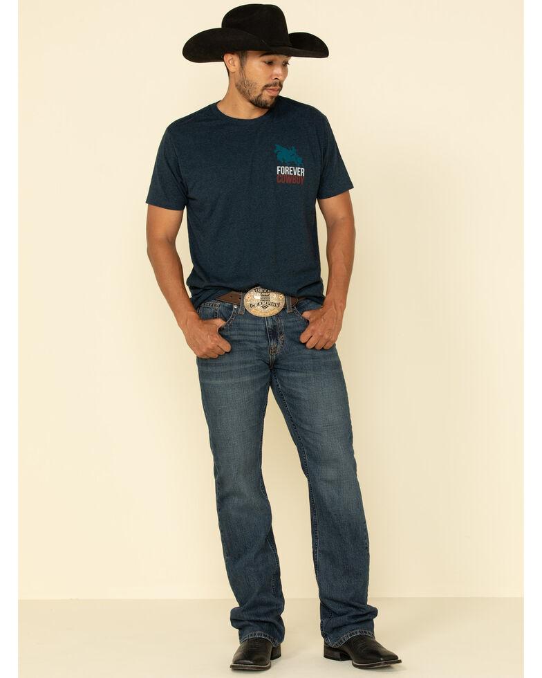 Cody James Men's Cantor Rigid Slim Boot Medium Wash Jeans , Blue, hi-res