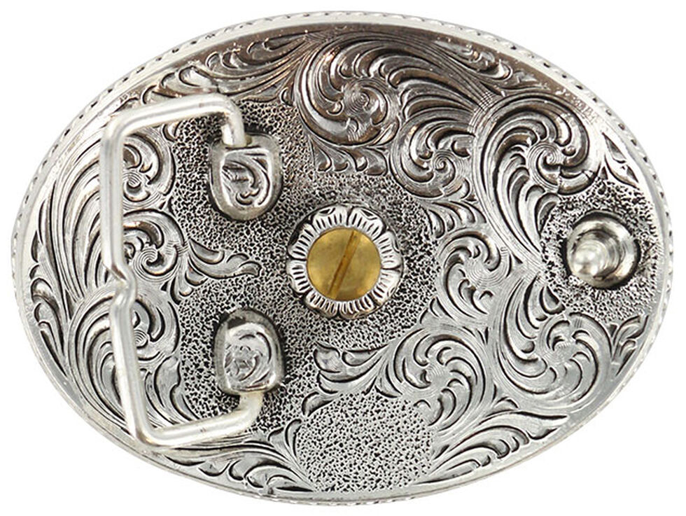 Cody James Men's Oval Montana Belt Buckle, Multi, hi-res