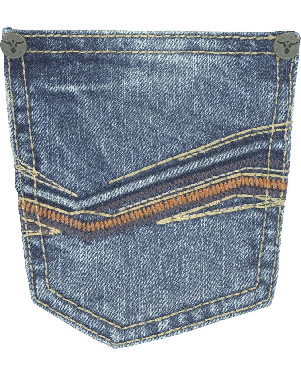 Wrangler 20X Boys' No. 33 Relaxed Fit Jeans - Straight Leg , Indigo, hi-res