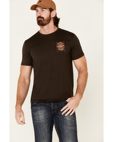 Moonshine Spirit Men's Brown Pure Tennessee Graphic T-Shirt , Brown, hi-res