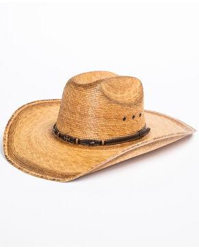 Cody James Boys' Toasted Palm Cross Cowboy Hat, Natural, hi-res