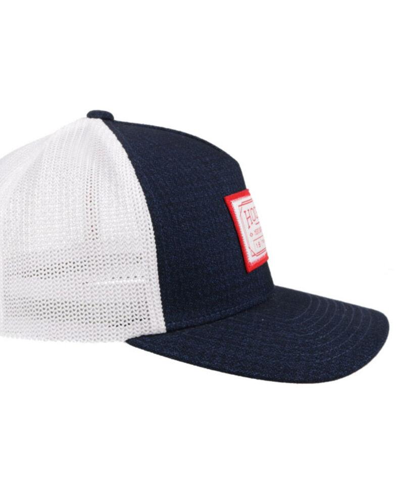Hooey Men's Navy Doc Flex Fit Mesh Ball Cap , Navy, hi-res